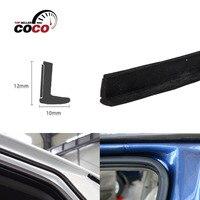 L Shape 236 600cm Black Rubber Sealing Seal Strip Protector Car Door Edge Protector Trim Durable