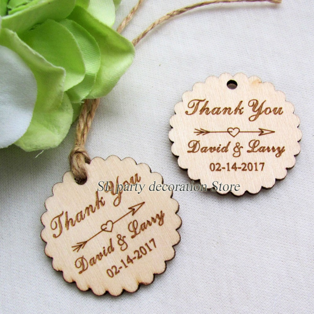 50pcs Personalized Engraved \