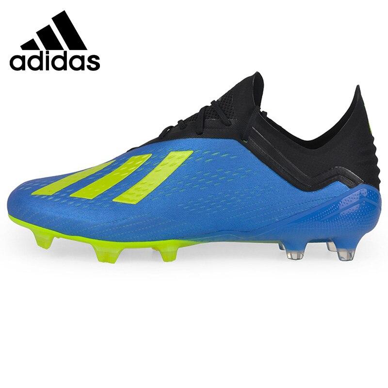 Original Nouvelle Arrivée 2018 Adidas X 18.1 FG Chaussures de Football des Hommes Sneakers