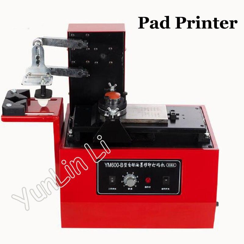 Настольная электрическая печатная машина с круглой печатью для принтера с защитой окружающей среды