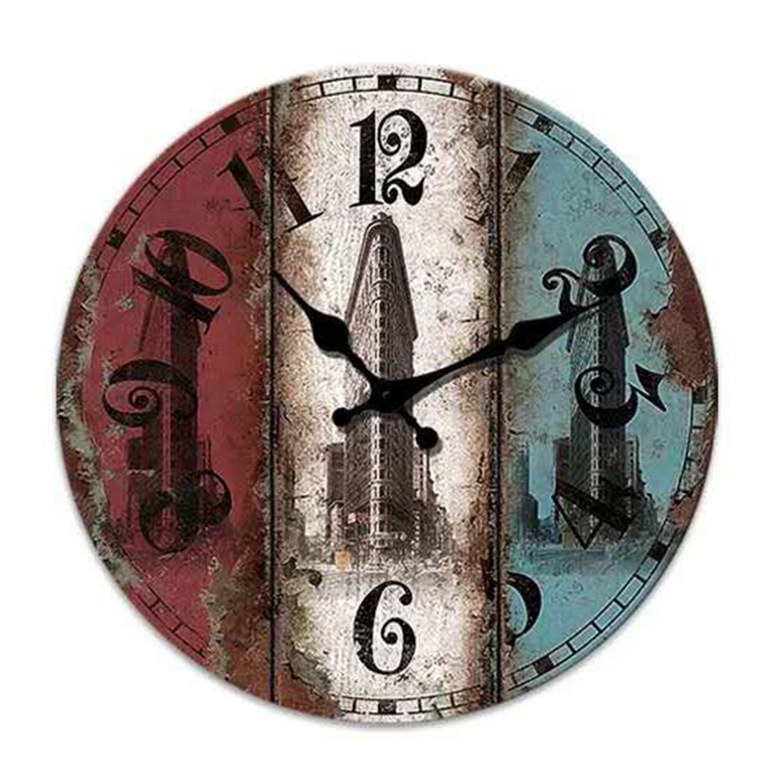 online buy wholesale clock house from china clock house reida archaize hanging clock house decor round wall clock home decoration watch wall christmas gift