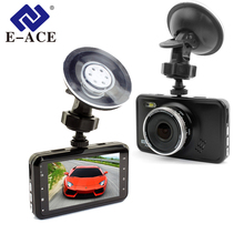 Big discount E-ACE Novatek Mini Car Dvrs Dash Camera Full HD 1080P Video Recorder With Led Flashlight Night Vision Portable Car Camcorder