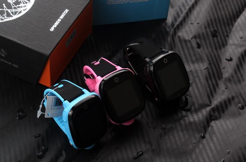 remoto câmera gps wi-fi crianças estudantes smartwatch