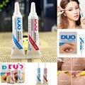 2 Unids/lote Fake Pegamento de Pestañas DUO Pestañas de Extensión Del Pegamento Adhesivo de Secado Rápido Anti-sensible para Falsas Eyelashs