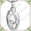 CMJ8278 familia padre Madre y niño joyas cremación para cenizas colgantes collar conmemorativo Apreciar los recuerdos