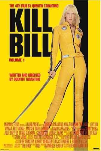 KILL BILL MOVIE ROOM SILK POSTER Decorative painting 24x36inch