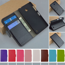 Top quality PU Leather Cover For Nokia Lumia 630 635 Case Flip Wallet Phone Cases With Card Holder