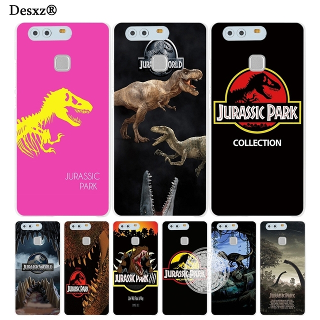 newest 8fac6 33161 US $3.88 |Desxz Jurassic Park Dinosaur cell phone Cover Case for huawei  honor 3C 4A 4X 4C 5X 6 7 8 Y6 Y5 2 II Y560-in Half-wrapped Case from ...