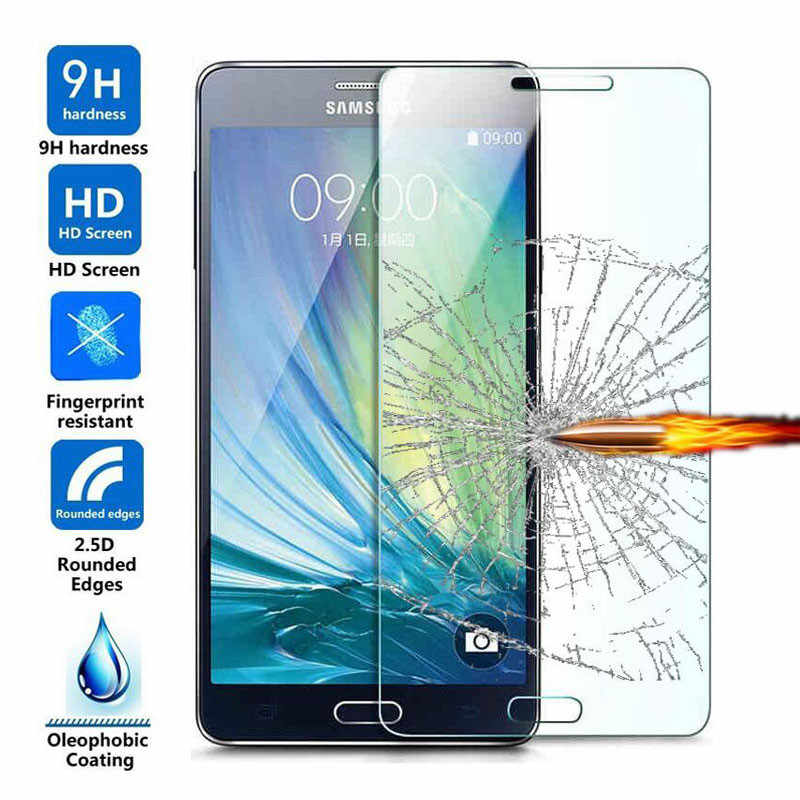 9H Tempered Glass Screen Protector For Samsung Galaxy J3 J5 J7 A3 A5 A7 2016 2017 Prime S3 S4 S5 S6 S7 S8 MINI Protective Film