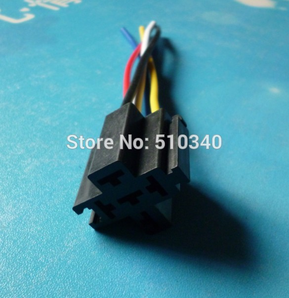 compare prices on wiring harness replacement online shopping buy 5 pin plastic replacement auto relay socket wiring harness suit for 4 pin 5