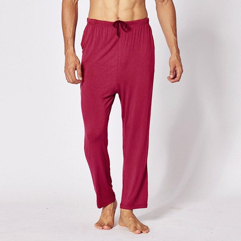 XXL/XXXL/XXXXL Large Size Pajamas Men Soft Modal Pajamas Pants Comfortable Loose Sleeping Trousers Breathable Mens Sleep Pants