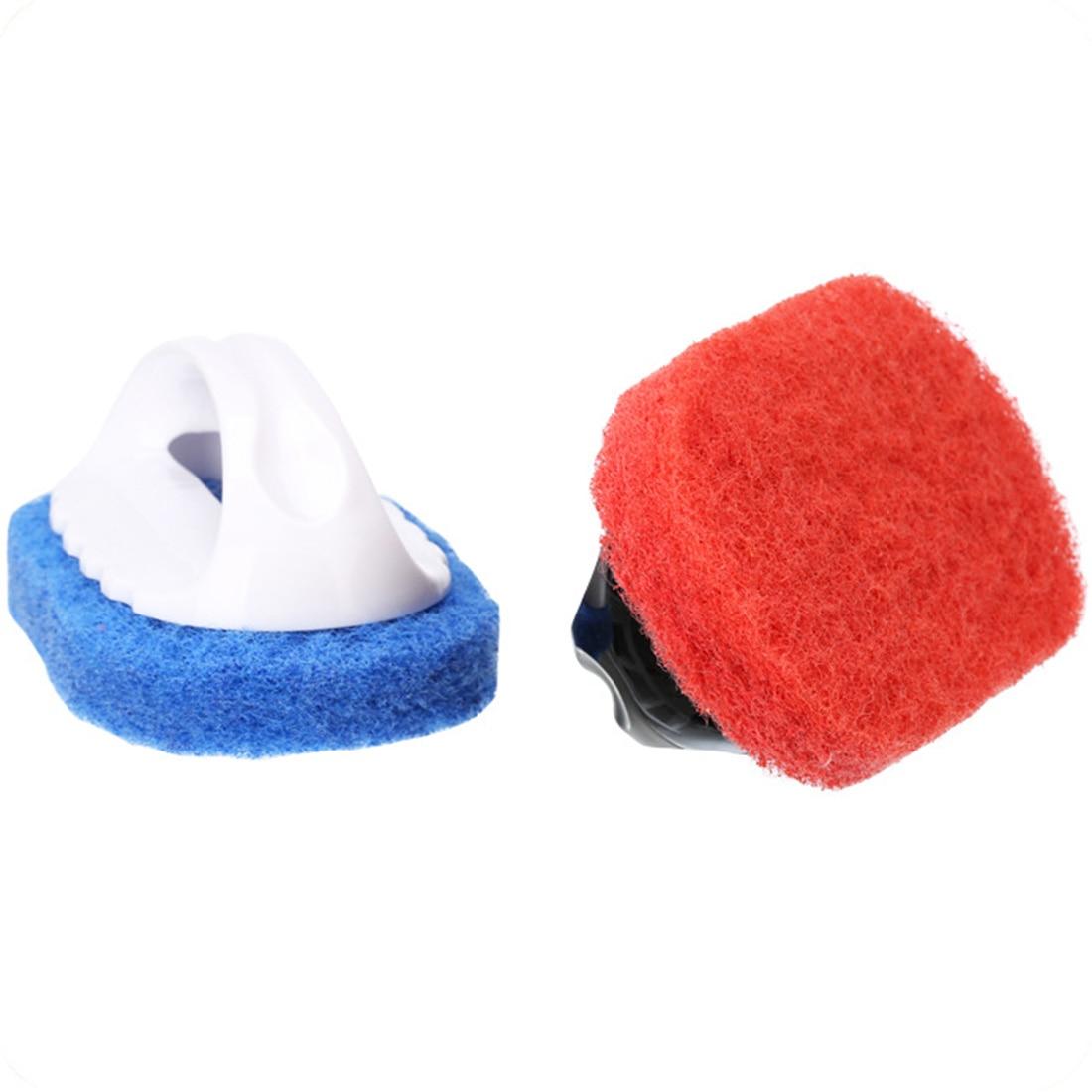 Economic Household Supplies Handle Hard Sponge Cleaning Brush Sanitary Tools Brusher