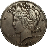 1922-D Peace Dollar COIN COPY FREE SHIPPING