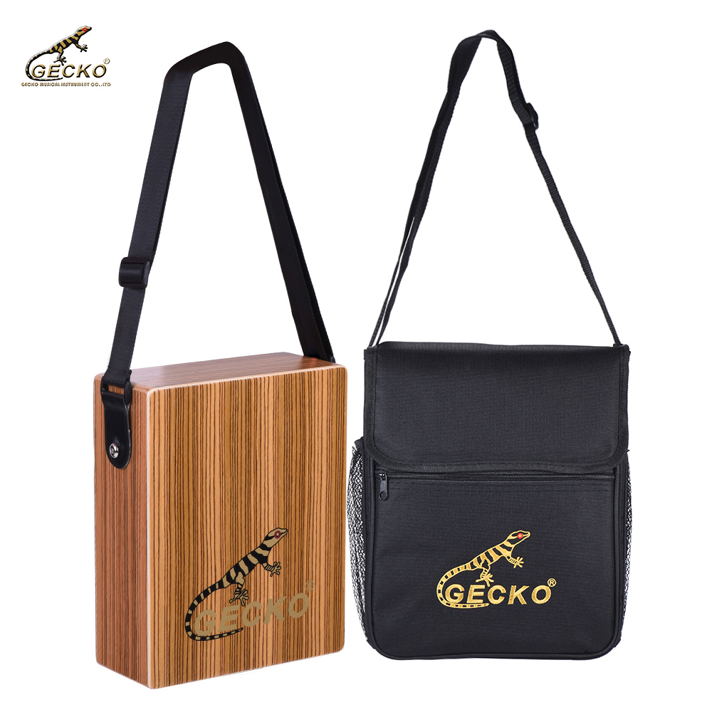 Sports & Entertainment Percussion Instruments Symbol Of The Brand Portable Traveling Cajon Box Drum Hand Drum Zebra Wood Percussion Instrument With Strap Carrying Bag Pretty And Colorful