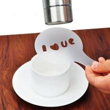 Flower-Mold Decorator Spray Coffee-Powder Sugar 16pcs Sieve Cupcake Wedding-Cake Bride-Pattern