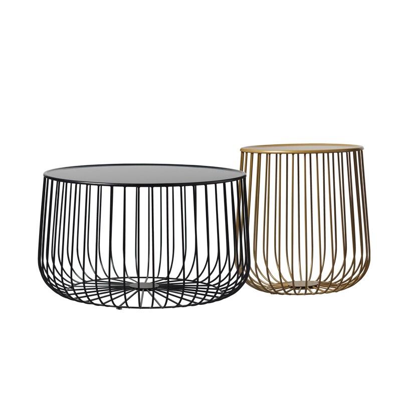 Nordic чайный столик металла мебель для гостиной тыквы журнальный столик современный минималистский столик