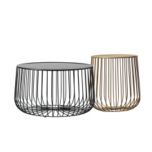 Nordic tea table metal furniture living room pumpkin coffee table modern minimalist side table