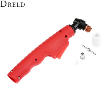 DRELD 1pc PT-31 LG-40 Air Plasma Cutting Torch Head Body for Plasma Cutter Torch Consumables Hand Manual Welding Torch Tools pt 31 lg 40 air plasma cutter cutting torch complete 30 40amp 3meter 10 foot free shipping