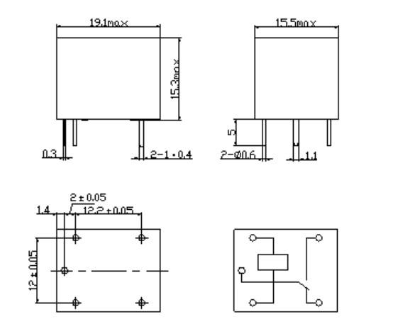 1PCS SRD-06VDC-SL-C 5PINS SONGLE