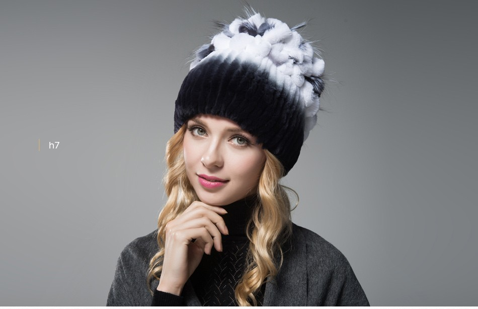 fur winter hats for women PCM003 (15)