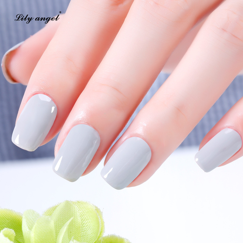 Lily angel Charming Sweet 15ml 120 Colors Manicure Soak off UV LED Gel Nail Polish Semi Permanent Nail Gel Varnishes NO 49 72 in Nail Gel from Beauty Health
