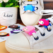 10 Pcs a Set Novelty Soreike! Anpanman Shoe Decorations Casual/Sports Shoelace Charms Shoes Accessories Fit Childrens Gifts