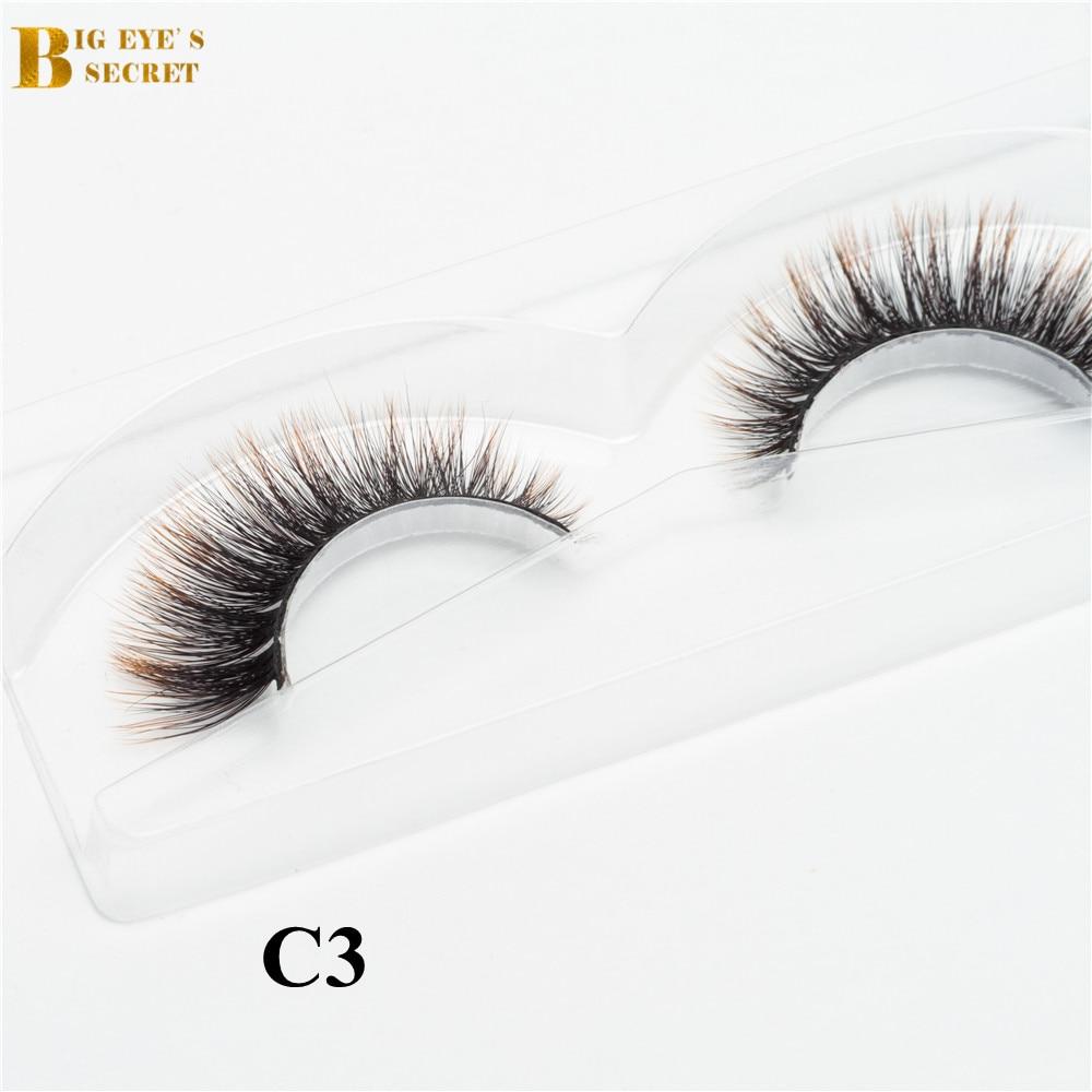 projeto bonito e de bom gosto 3d colorido cilios falso vison propria marca 3d seda natural