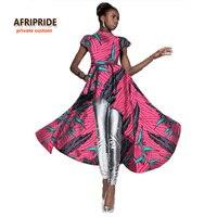 Новый дизайн Африканский платье для женщин Весна в африканском стиле сексуальное платье для женщин традиционная одежда Базен Riche принтом Б...