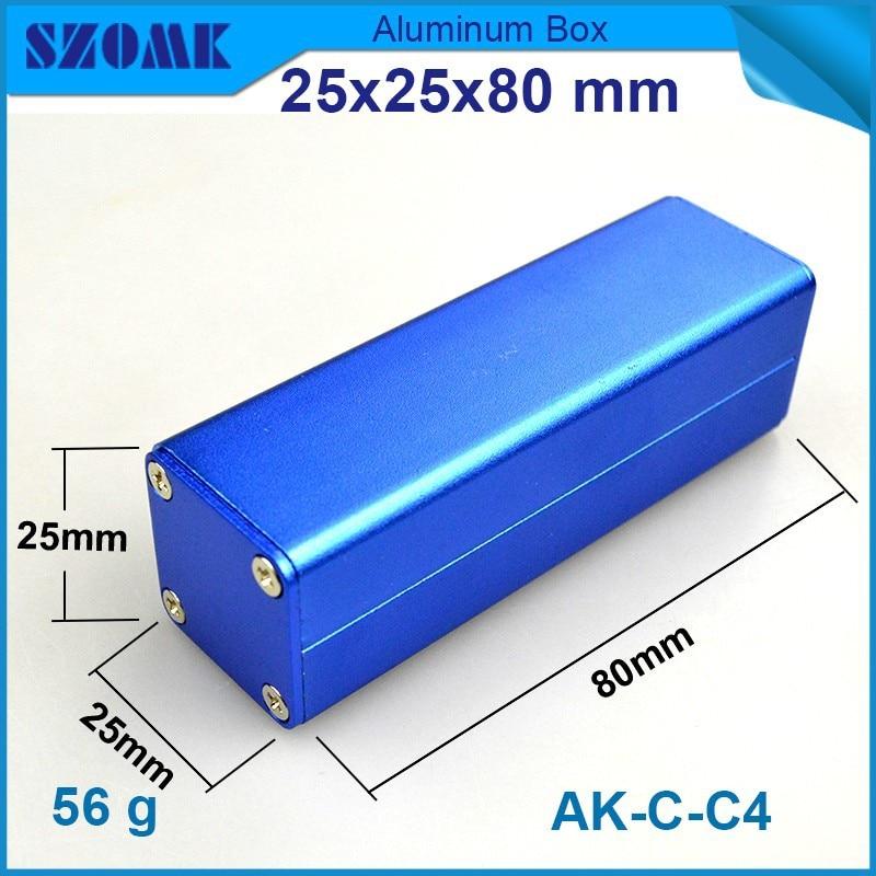 SODIAL 3,9 x 2,7 x 1,6 pouces 100 mm x 68 mm x 40 mm Boitier de jonction ABS pour Boitier de projet universel avec couvercle transparent pour PC