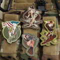 """Military Patch """" Sex Girl Soldier"""" Army Military Badge  Patch Armlet/Badge/Shoulder Patch"""