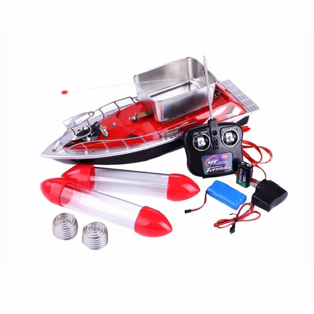 Bateau télécommandé mis à jour poisson finder bateau jouets pour enfants adulte 300 m anti herbe vent haute vitesse mini rapide rc appâts de pêche - 2