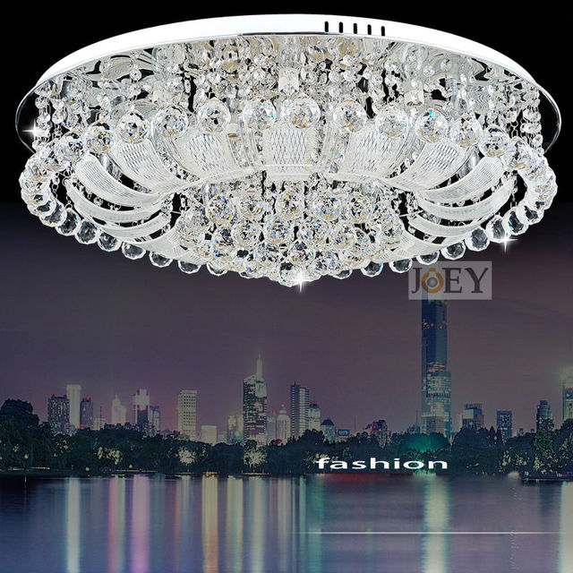 Modern LED Crystal Ceiling Lighting Simply Style Palace Light Fixture Egypt  Crystal Luxury Hotel Lamp Guaranteed