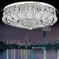 Moderne LED cristal éclairage de plafond Simplement style Palais lumière Mobilier Egypte cristal De Luxe Hôtel lampe Garanti 100% 9100-800