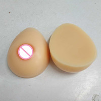 Full Teardrop Shape 5000g/Pair False Silicone Breast Form Artificial Boob Enhancer Sexy Tit Bust Chest For Men Crossdresser
