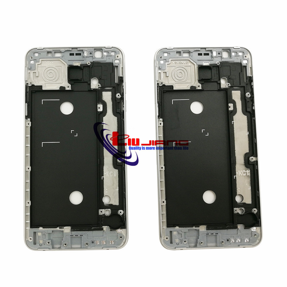 Image 2 - Original Front Frame Housing For Samsung J7 2016 J710F J7108 LCD Panel Middle Frame Bezel Case & Buttons + Adhesive-in Mobile Phone Housings & Frames from Cellphones & Telecommunications