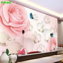 3D TV background wall painting living room sofa bedroom wedd