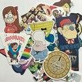 25pcs Gravity falls sticker set Dipper Mabel personality Notebook suitcase car sticker Waterproof cartoon graffiti stickers