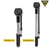 Topeak POCKETSHOCK DXG Bicycle 360psi Pump MTB Fork Air Pump Inflator Cycling Presta Schrader Valve El Inflador de Bicicleta