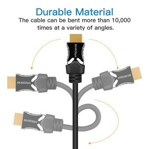 Image 4 - Navceker HDMI 2.1สาย8K/60Hz 4K/120Hz 48Gbps HDCP2.2สายHDMIสำหรับPS4 Splitter Switch Audio Videoสาย8K HDMI 2.1