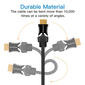 Image 4 - Navceker HDMI 2,1 Kabel 8K/60Hz 4K/120Hz 48Gbps HDCP 2,2 HDMI Kabel kabel für PS4 Splitter Schalter Audio Video Kabel 8K HDMI 2,1
