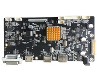 HDMI DVI Audio 4K LCD Controller Board Support LED LCD Panels QFHD 3840x2160 60HZ