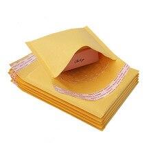 5 шт./лот, крафт-бумага, Пузырьковые конверты, сумки для почтовых отправлений, мягкий конверт для доставки, пузырьковый почтовый пакет, бизнес-товары