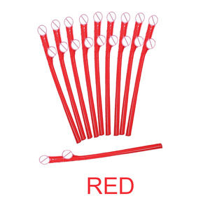 Image 5 - 10 pcs Drinking penis straws Bridal Shower Sexy Hen Night Willy Penis Novelty Nude Straw for Bar Bachelorette Party supplies