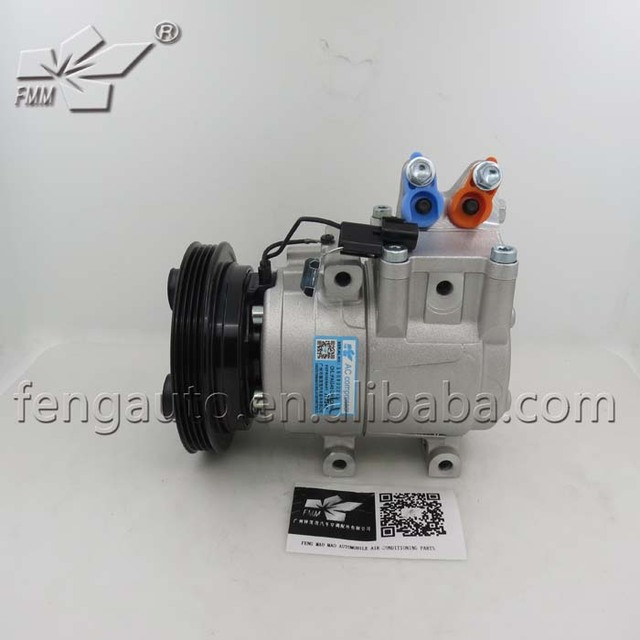US $126 0 |977014F100 HYK262 Auto ac compressor HS15 for hyundai  porter/H100 truck-in A/C Compressor & Clutch from Automobiles & Motorcycles  on