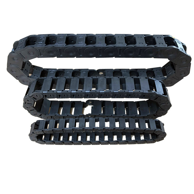 Tank Chain 10*20 15*30 10x10 7x15mm Bridge Type Non-Opening Plastic Towline