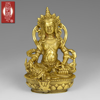 Patchwork wealth buddha decoration mammographies lucky fortune 12cm t133 Bronze art Crafts copper decoration