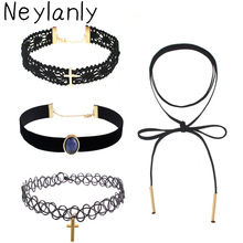 Big Necklaces For Women Black