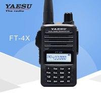 Yaesu FT 4XR Handheld Walkie Talkie Dual Band Multi Function Two Way Radio Transceiver New Release