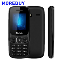 Original Lingwin N1 GSM Cellphone 1.77 Inch 32MB+32MB SC6513DA MP4 Flashlight 600mAh Long Standby elderly Phone Dual SIM Card
