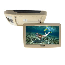 10 Inch 12V Flip Down TFT LCD Car Monitor With MP5 Player Car Roof Mount Monitor 16:9(China)